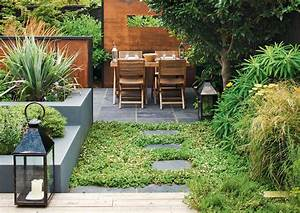 10 idees d39amenagement pour petit jardin With attractive faire un plan maison 10 maison de ville avec patio