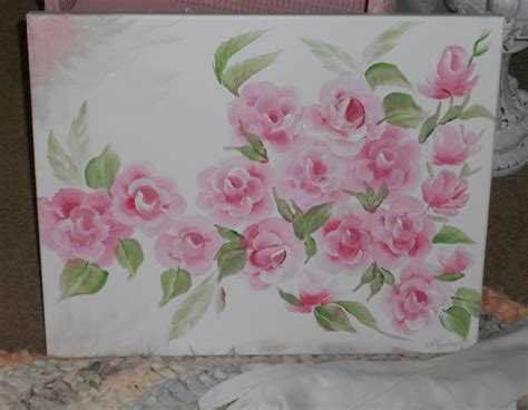 how to paint shabby chic roses 195 best images about rose painting on pinterest watercolors shabby chic pink and yellow roses