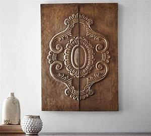 Holz Ornament Wand : 100 ideen f r faszinierende deko aus holz schmuck von der natur ~ Whattoseeinmadrid.com Haus und Dekorationen