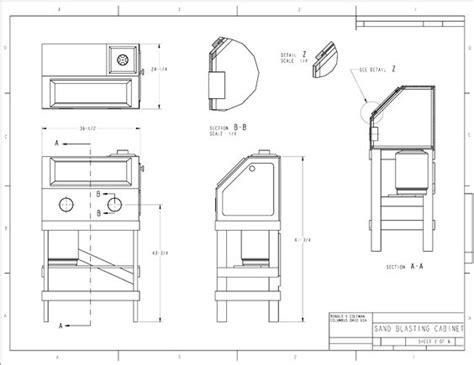 Diy Sandblast Cabinet Plans by Popular Mechanics Plans Sandblasting Cabinet