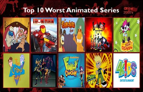 Jefimus' Top 10 The Most Hated Cartoon Of The 2000 By