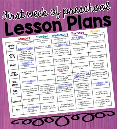 preschool ponderings my lesson plans for the week 988 | week%2Blesson%2Bplan%2Bcover