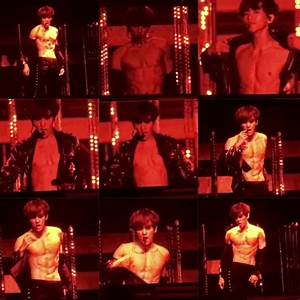 EXO Baekhyun Has Fans Gone Crazy Over His 'Nutella Abs ...