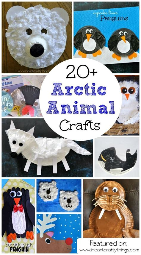 20 arctic amp antarctic animal crafts for arctic 857 | 5266b202fabf78633f8bdec4186b5b13