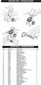 Generac Pressure Washer Model 1120
