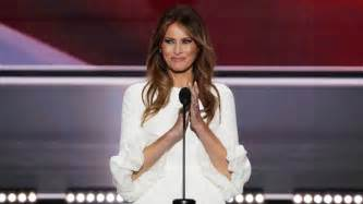 cake jewelry melania to deliver caign speech the