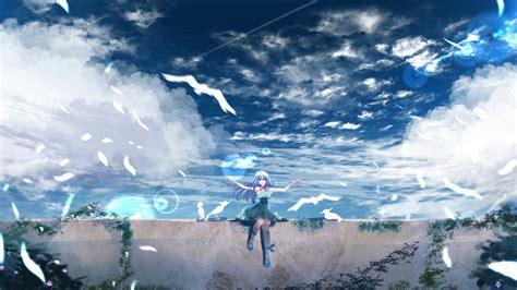 27 Landscape Anime Wallpaper 2560x1440