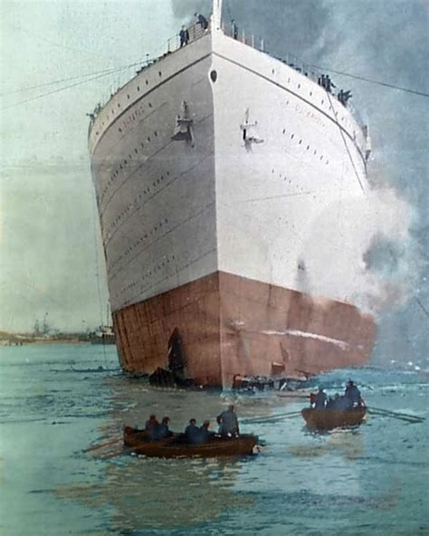 rms olympic sinking u boat 172 best images about rms olympic on