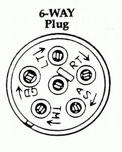 Wiring Diagram For 6 Way Trailer Plug