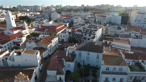 [00:26] Aerial Drone video footage of Lagos city portugal ...