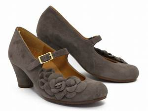 Chie Mihara Nerine In Grey Suede Ped Shoes Order