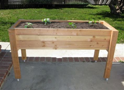 25 best ideas about elevated planter box on