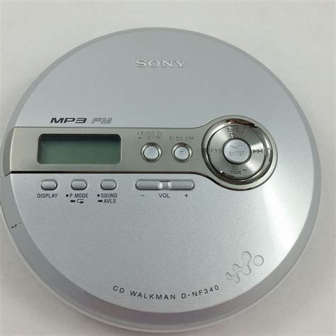 cd player mp3 sony cd walkman d nf340 portable cd player mp3 fm radio g