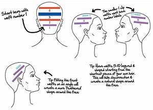 Hair Extension Placement Guide