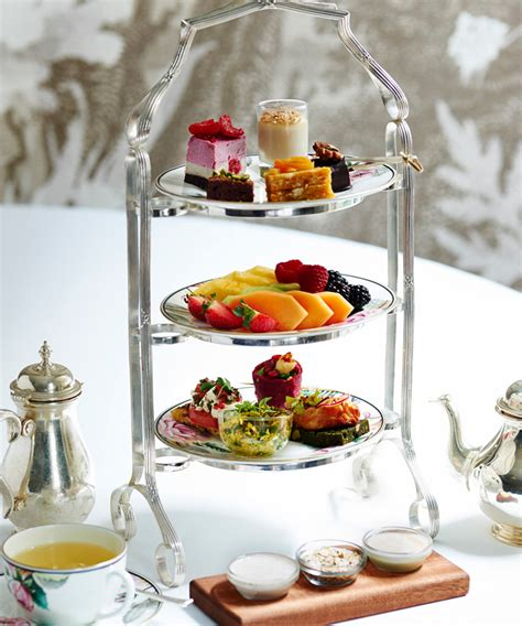 healthy afternoon teas  london hip healthy