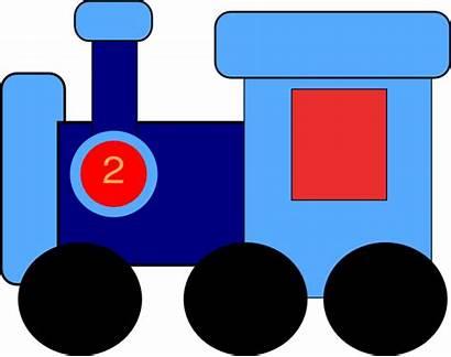 Train Clip Clipart Caboose Engine Trains Vector