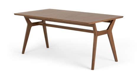 jenson extending dining table stain oak made com