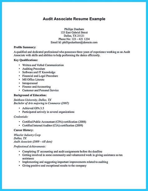 View Sle Resumes by Audit Associate Resume Magnificent Audit Associate Resume