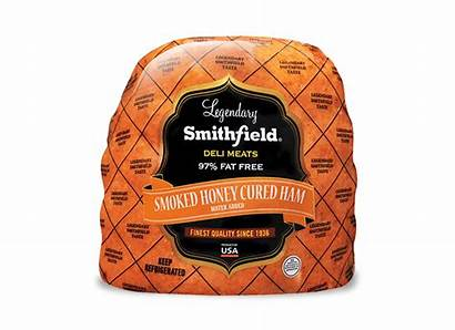 Ham Cured Honey Smithfield Smoked Deli Lunchmeat