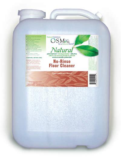 osm natural floor cleaner  gallon