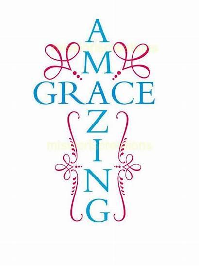 Grace Cricut Amazing Svg Explore Vinyl Cut