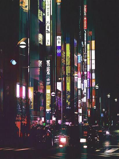 Tokyo Night Fubiz Japan Dark Landscape Crazy