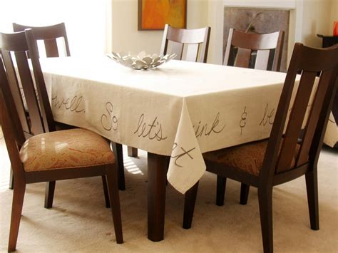How To Make A Handwritten Tablecloth