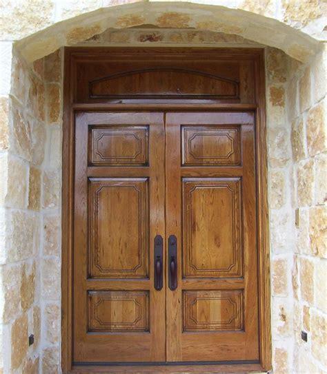 mid century modern double front doors zion star