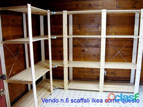 scaffali ikea in legno scaffali legno offertes aprile clasf