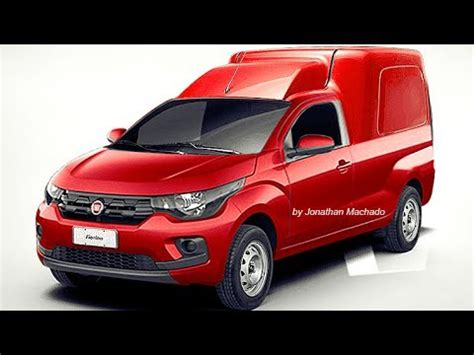 Photoshop Novo Fiat Fiorino 2019 @ #mobi Youtube