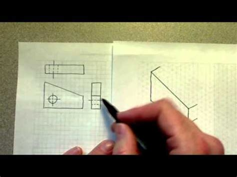 isometric view created  orthographic views youtube