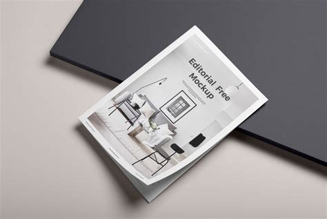 Magazine mockups are a must for graphic designers who are engaged in printable magazine design. Free Editorial Mockup | Mockuptree