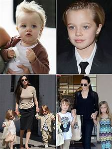 [PICS] Angelina Jolie & Brad Pitt's Kids' Transformations ...
