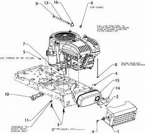 Mtd 13a878xt099  247 273740   T1500   2017  Parts Diagram For Engine Accessories