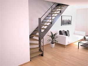 Escalier En Colimaçon Pas Cher : acheter un escalier quart tournant en m tal stairkaze ~ Premium-room.com Idées de Décoration