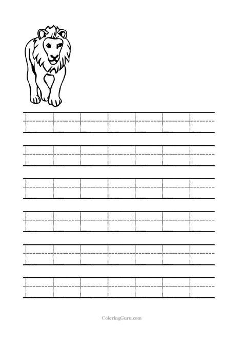 letter l worksheets for kinder alphabet worksheets
