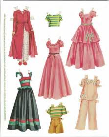 Paper Doll Clothes Cut Outs