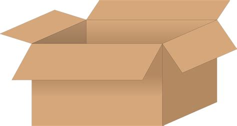 storage container with lid box cardboard free vector graphic on pixabay