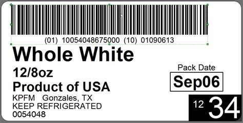 Wal-mart Specification Pti Label