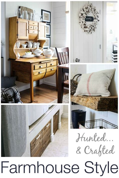 farmhouse decorating style vintage farmhouse find treasure hunting with the wood grain cottage fox hollow cottage