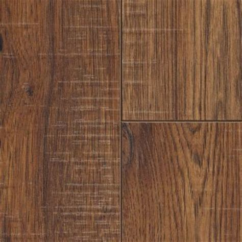 Home Decorators Home Depot by Home Decorators Collection Distressed Brown Hickory 12 Mm