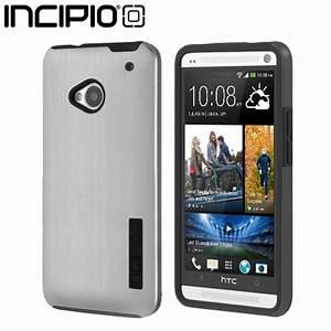Incipio DualPro Shine Case for HTC One M7 - Silver / Black ...