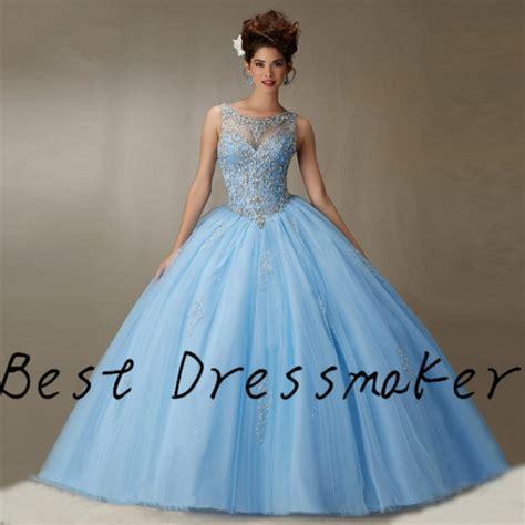 light blue 15 dresses vintage light blue quinceanera dresses 2016 backless