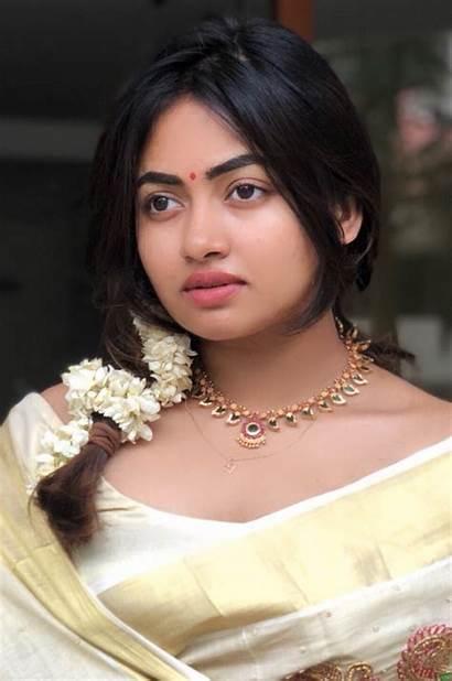 Kerala Saree Zoya Shaalin Actress Malayalam South