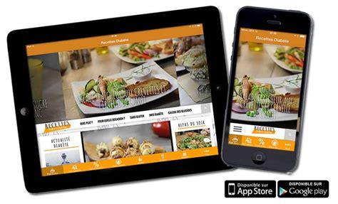 application recette cuisine l application mobile de recettes pour diabétiques