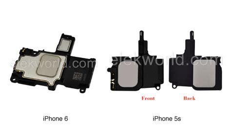 iphone 6 speakers purported iphone 6 speaker assembly revealed by