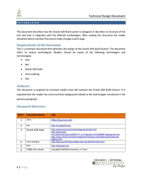 Detailed Technical Design Document Template Choice Image