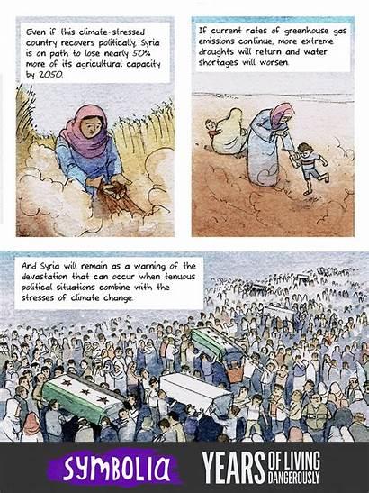 Perang Suriah Comic Sipil Years Dangerously Living