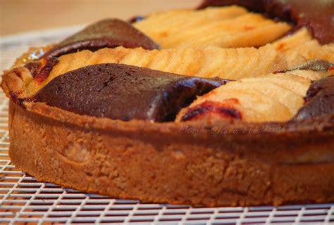tarte au poire sans pate tarte sabl 233 e poire chocolat