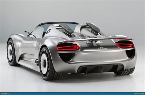 porsche spyder ausmotive com porsche 918 spyder given green light